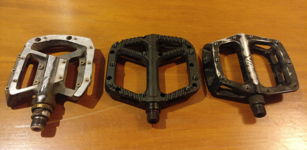 Shimano Saint vs OneUp Composite vs DMR V8 Pedals